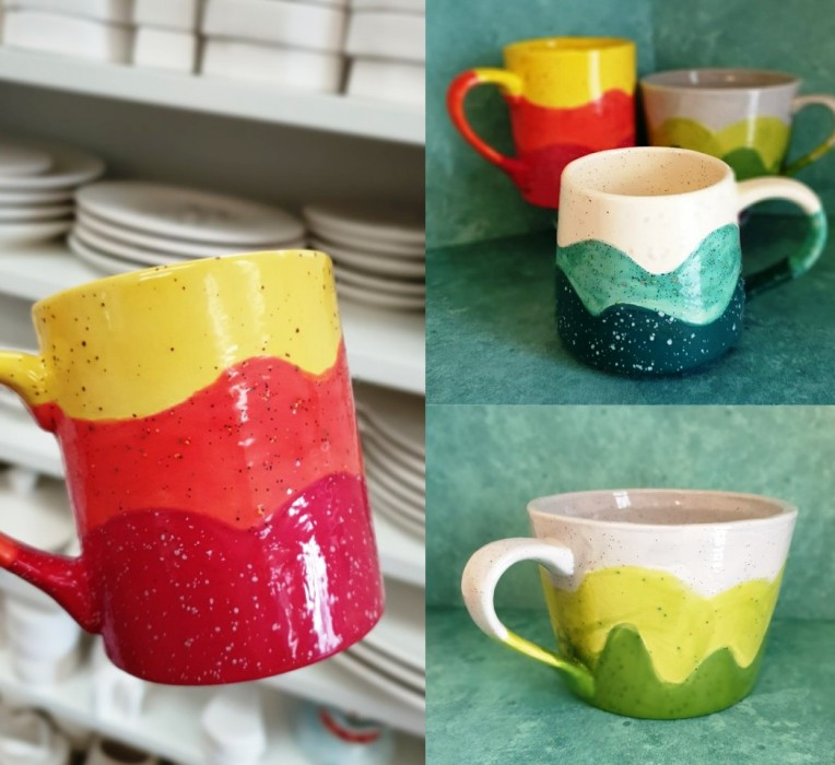SPECKLED MUG PROJECT